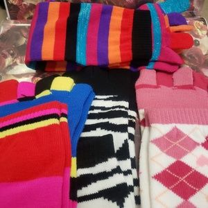Fashion funky toe socks lot of 4 OS FITS MOST